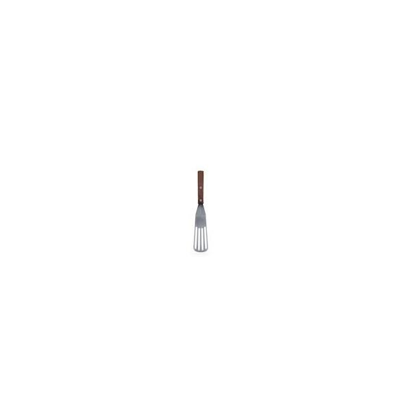 Xantia Stekspade 28 cm, perforerad, Rostfritt 18/0 med träskaft