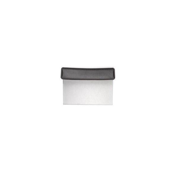 Exxent Degskrapa 15x7,5 cm, Rostfritt 18/0 med PP skaft