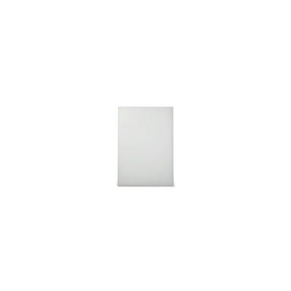 Exxent Skärbräda 49,5x35 cm Vit, HDPE plast
