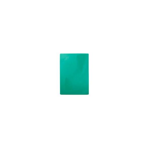 Exxent Skärbräda 49,5x35 cm Grön, HDPE plast