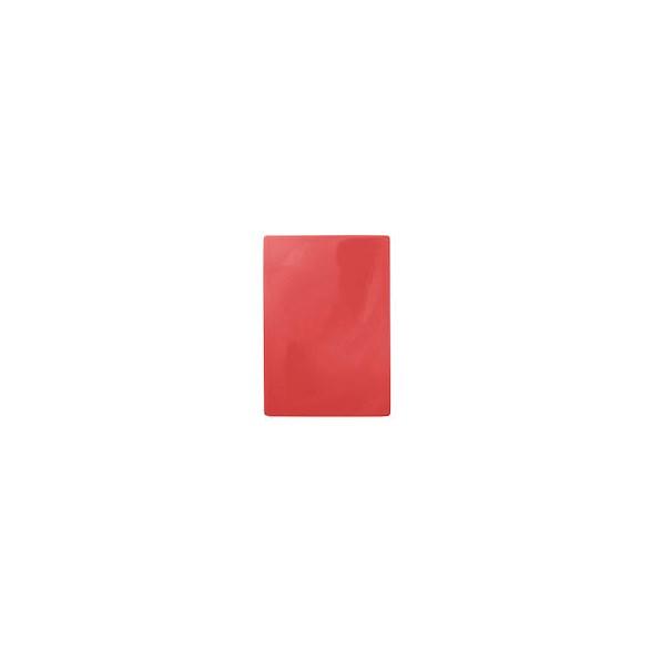 Exxent Skärbräda 49,5x35 cm Röd, HDPE plast