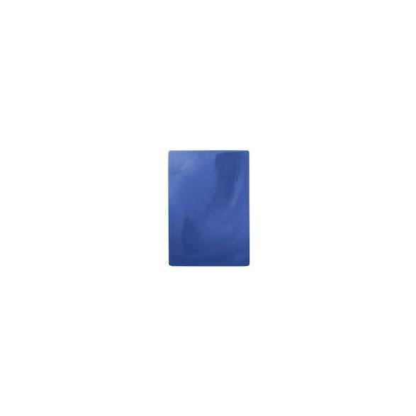Exxent Skärbräda 49,5x35 cm Blå, HDPE plast