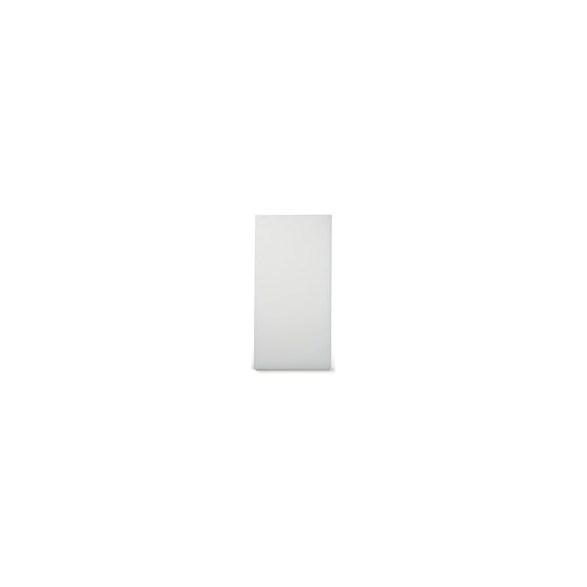 Exxent Skärbräda 74x29 cm Vit, HDPE plast