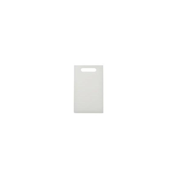 Exxent Skärbräda 24x15 cm Vit, Med handtag, HDPE plast