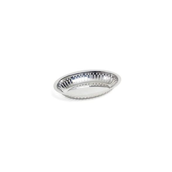 Exxent Serveringskorg 24x16 cm Oval, Rostfritt 18/0