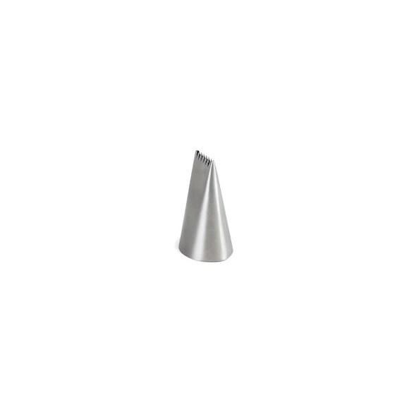 Exxent Tyll 18 mm, vågig, Rostfritt 18/10, 6 st