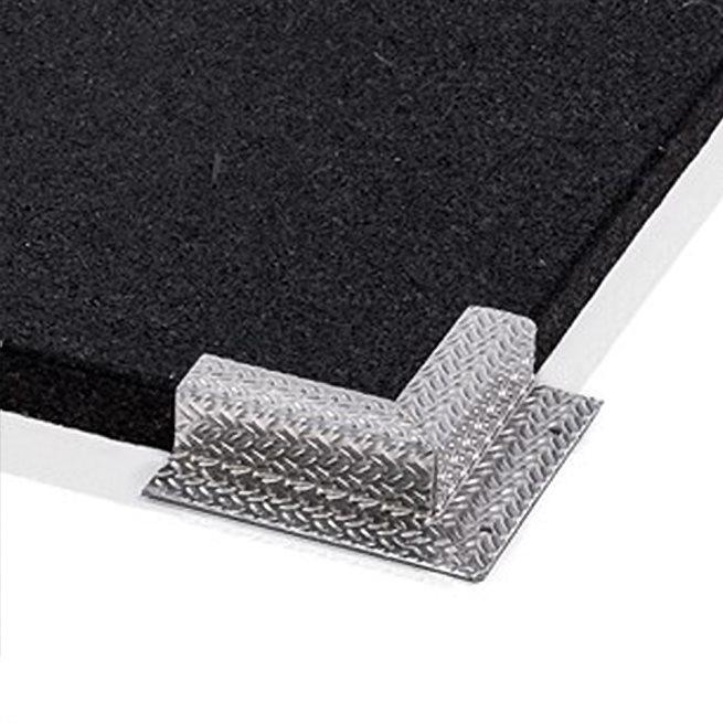 Aluminiumprofil, Hörn Inåt/Utåt, Profil