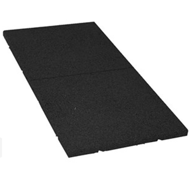 Rubber Mat - 30 mm, Black, Plattform