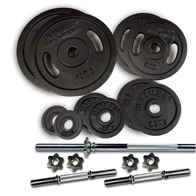 Hammer Sport Hammer Weight Discs 53 kg set