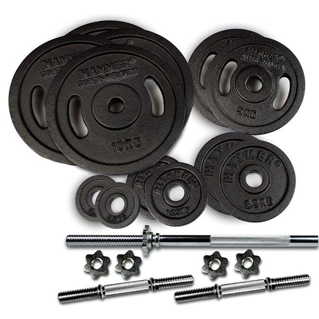 Hammer Sport Hammer Weight Discs 73 kg set