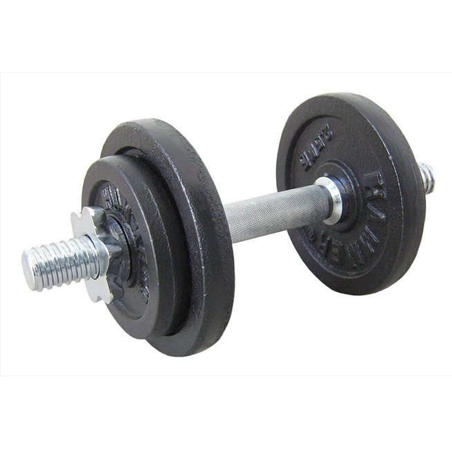 Hammer Dumbbell Set Black 10 kg