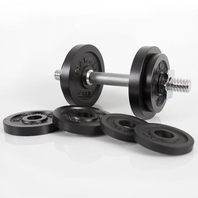 Hammer Dumbbelll Set, Iron (Ø 30 mm), 15 kg