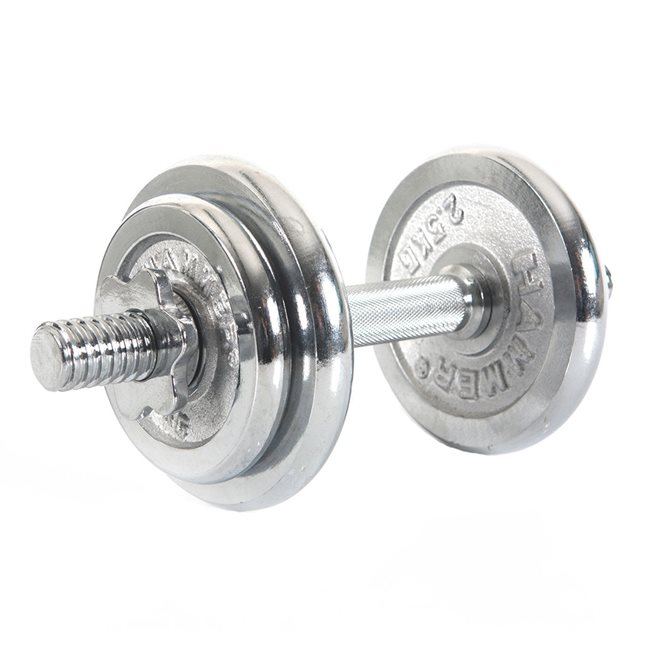 Finnlo Hammer Dumbbel Set Chrome 10 kg