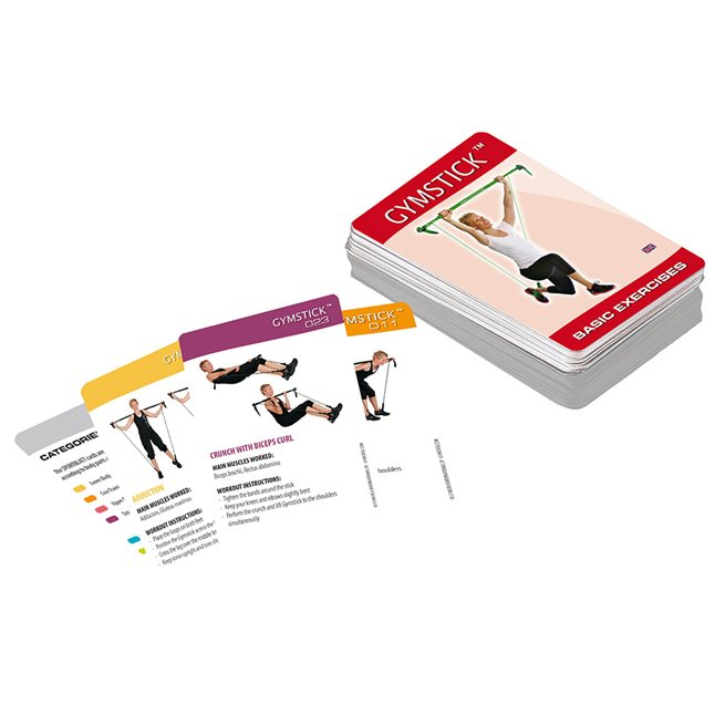 Gymstick Gymstick Exercise Cards - Basic Pack