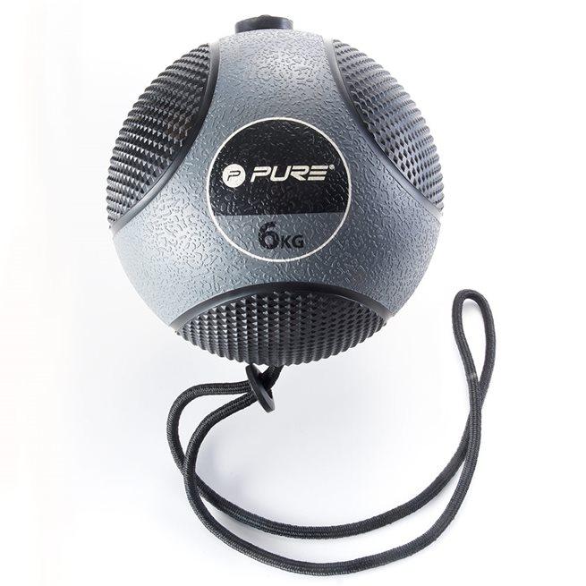 Pure2Improve Pure2Improve Medicine Ball With Rope