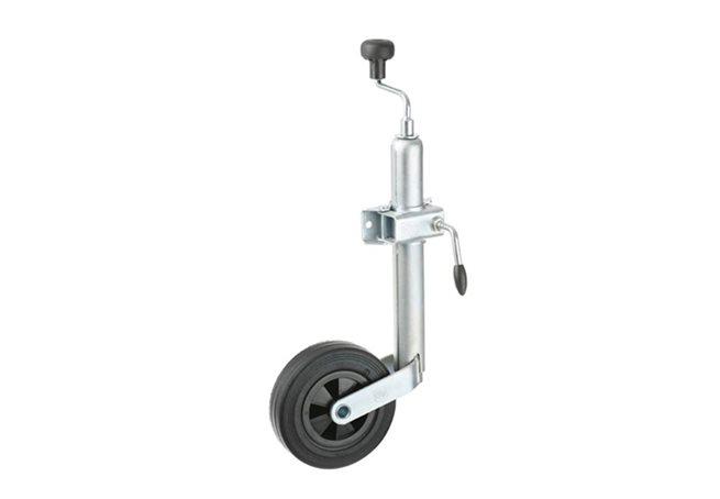 Stödhjul med fäste