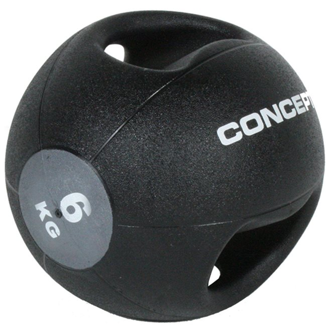 Concept Medisinball med grep
