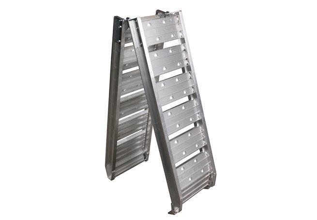 Uppkörningsramp ALU 1800 x 290 mm - 500 kg, vikbar