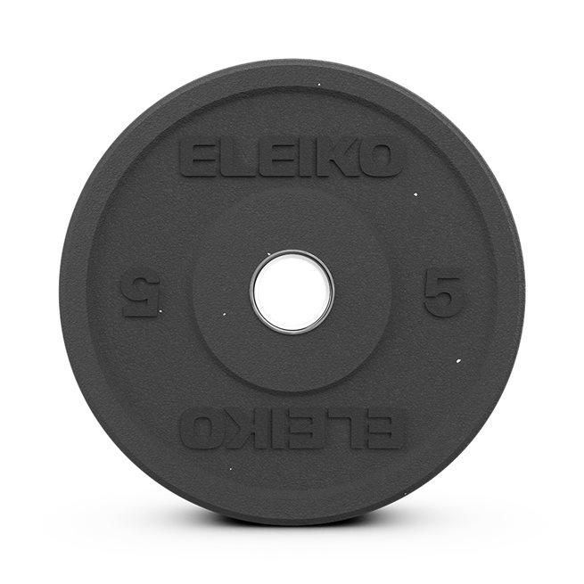 Eleiko XF Bumper - Black, Viktskiva Bumper