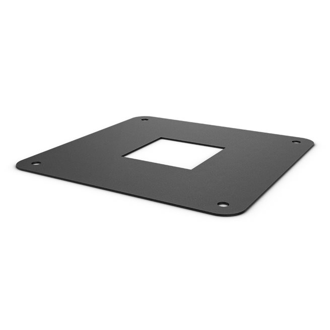 XF 80 Installation Cover Plate - Black, Crossfit rig