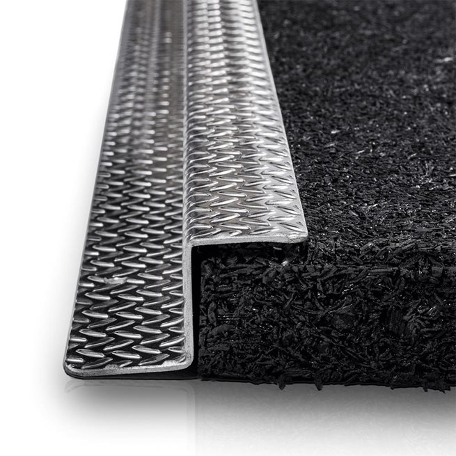 Eleiko Aluminiumprofil, Präglad, Z-form
