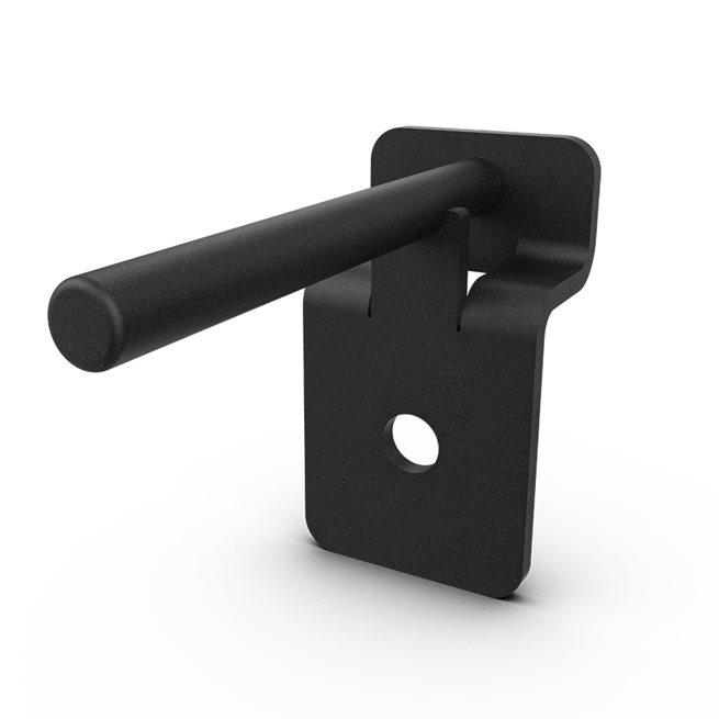 Eleiko XF 80 Rubber Band Attachments/Storage Pair - Black