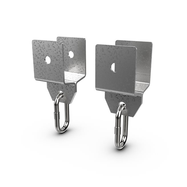 Eleiko XF 80 Bracket (Pair)- Galvanized