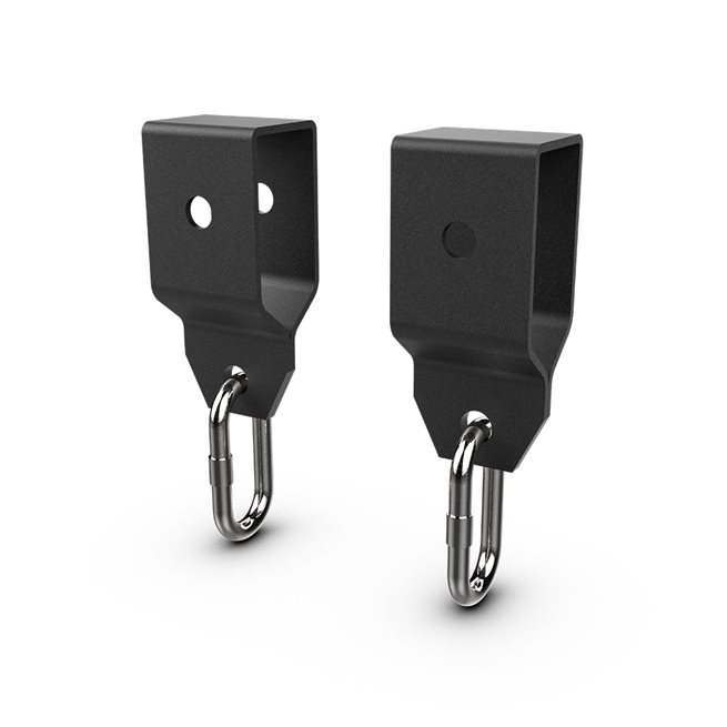 Eleiko XF 80 Trawler Bracket (Pair) - Black