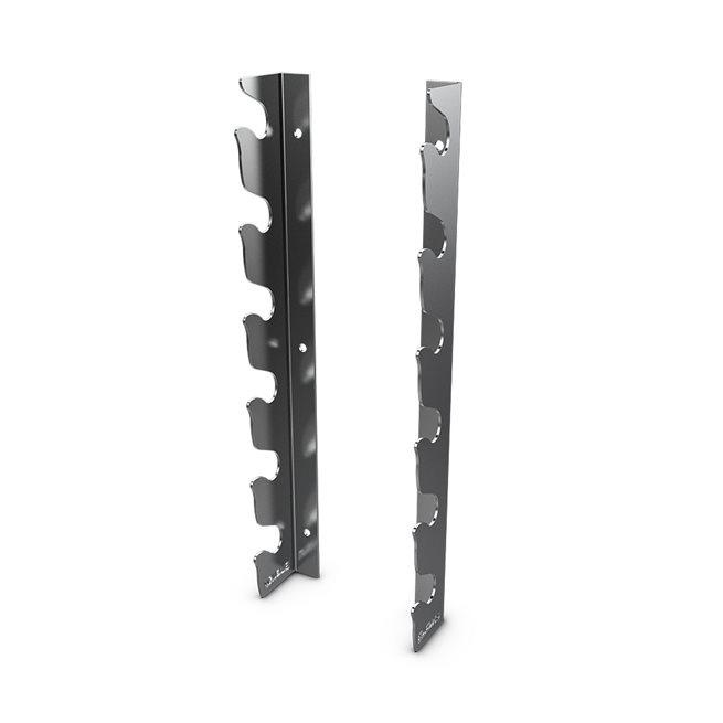 Eleiko Wall Mounted Bar Rack - Chromed, Ställning skivstänger