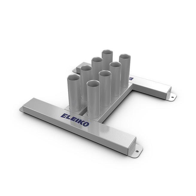 Eleiko Classic Vertical Bar Rack, 8 Bars, Ställning skivstänger