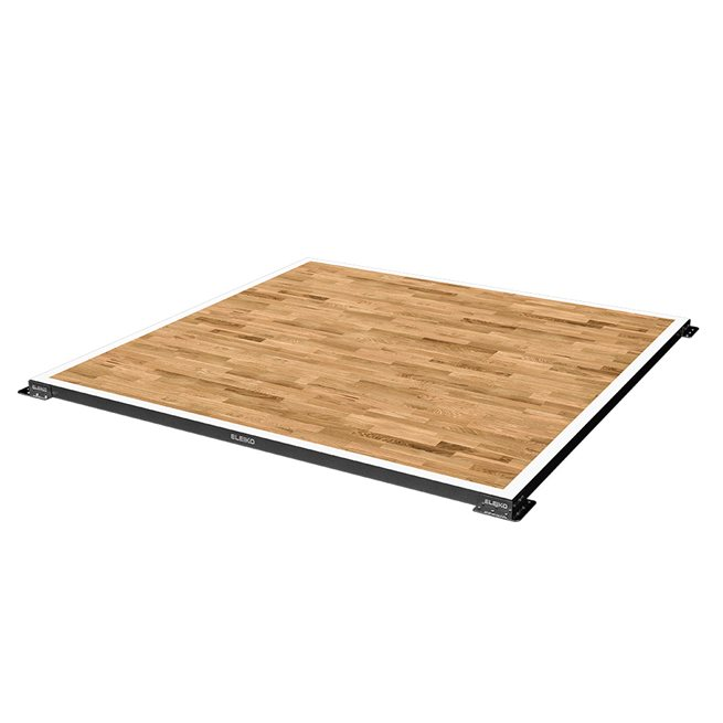Eleiko IWF Weightlifting Competition Platform - oak beams
