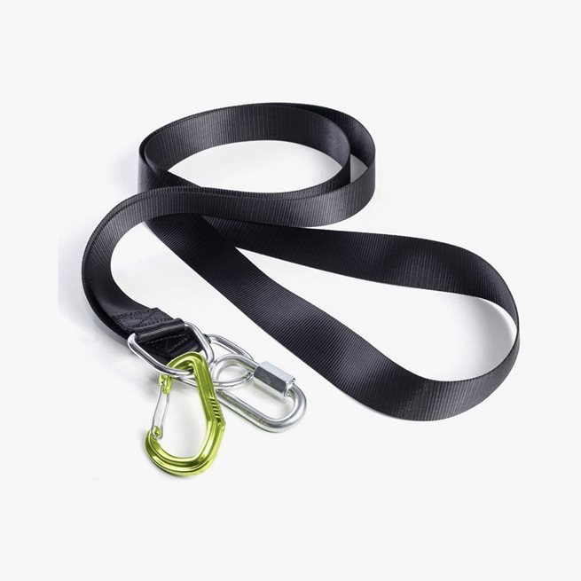 Exceed Sled Strap, with carabiner - 2,5m