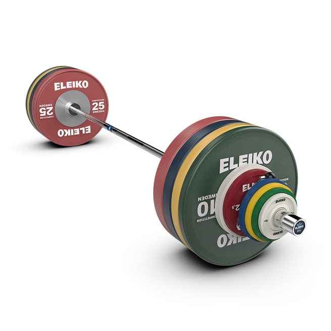 Eleiko IWF Weightlifting Competition Set - NxG, men, FG