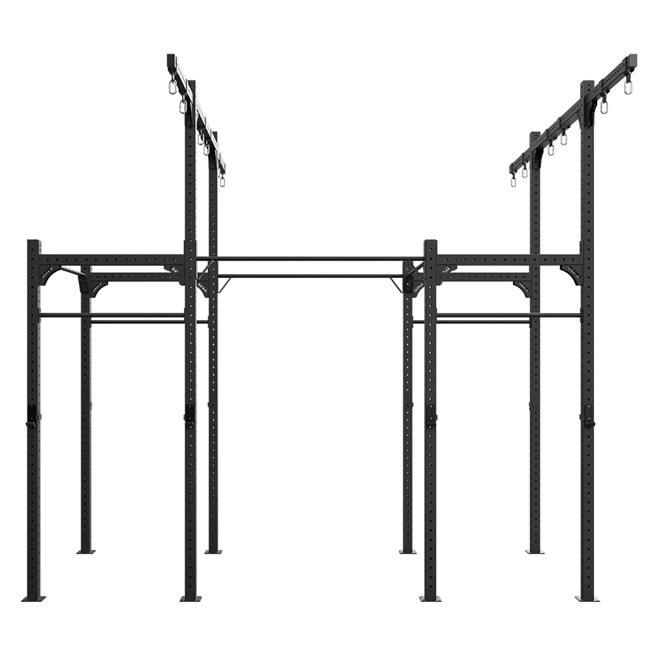 Freestanding 4,2M XF 80 Rig W/ Rings/Ropes, Crossfit rig