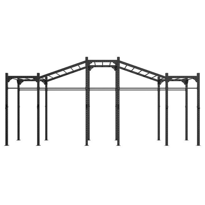 Eleiko Eleiko Freestanding 7,2m XF 80 Rig w/ Monkeybars/Rings/ropes