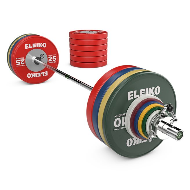 Eleiko Eleiko WPPO Powerlifting Competition Set - 340,5 kg
