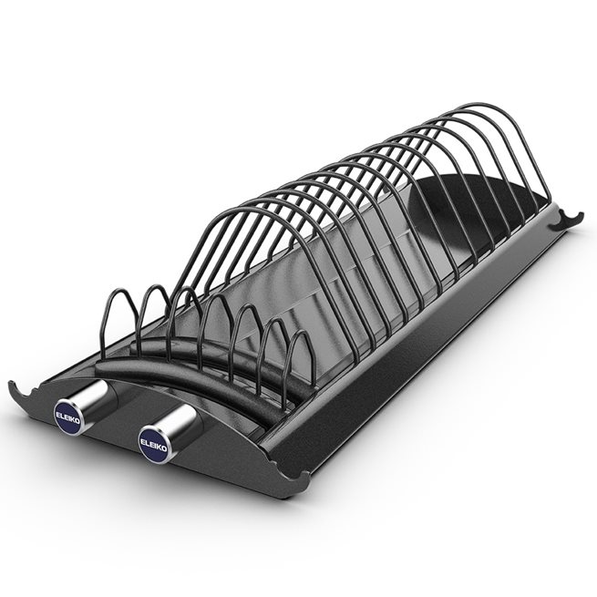 Eleiko Weightlifting Warm-Up Disc Rack - Charcoal, Ställning viktskivor