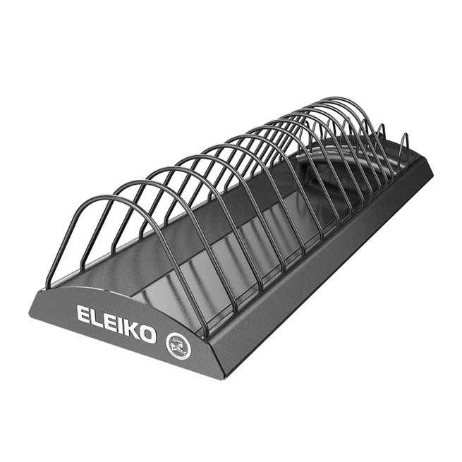 Eleiko WPPO Powerlifting Warm Up/Training Disc Rack, Ställning viktskivor