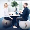 JobOut Balanseball Design, Stoff, Lys grå
