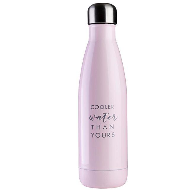 JobOut Pink Water, Vattenflaska