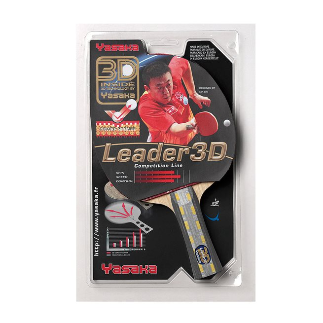 Yasaka Racket Ma Lin Leader 3D