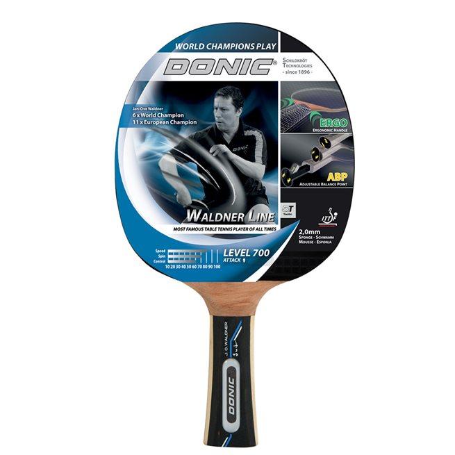 DONIC Racket Waldner 700 inkl DVD med J-O
