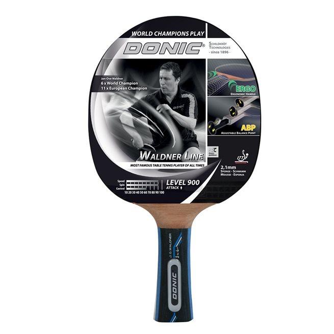 DONIC Racket Waldner 900 inkl DVD med J-O