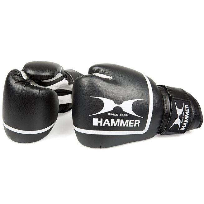 Hammer boxing Boxing gloves Fit II, PU, black, 6 OZ