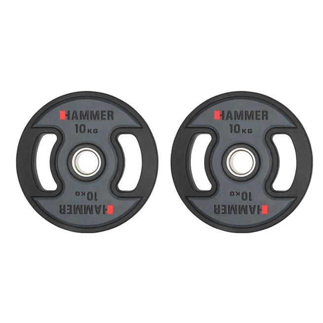 Hammer PU weight discs 50 mm
