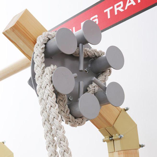 Suples Gladiator Wall Rope Pulley, Ribbstol tillbehör