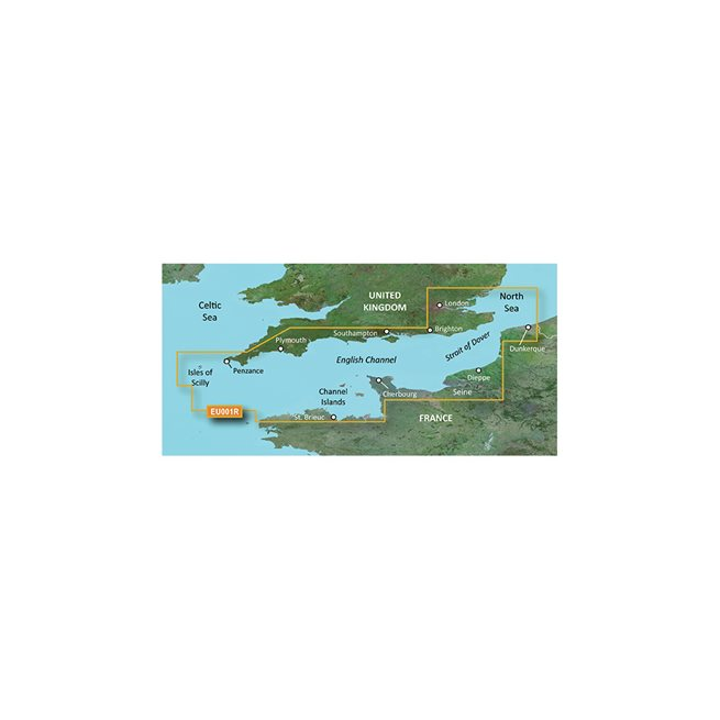 English Channel Garmin microSD™/SD™ card: VEU001R