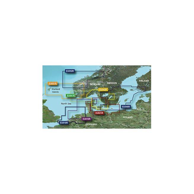 -North Denmark & the Eider Garmin microSD™/SD™ card: VEU474S