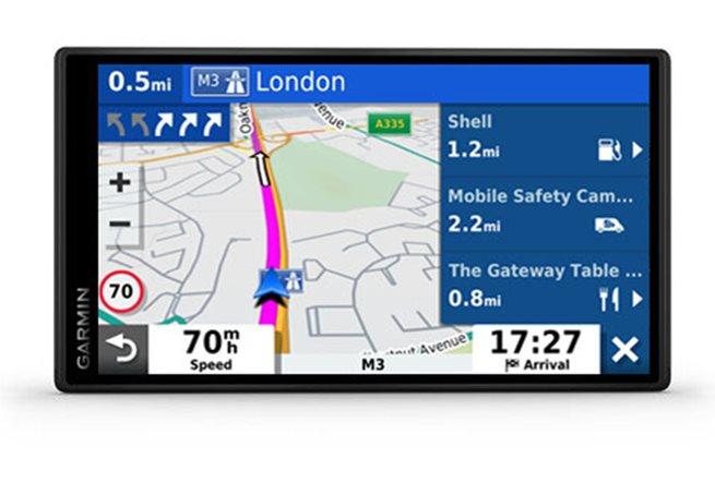 Garmin DriveSmart 65 & Trafikinformation i realtid