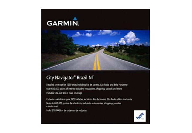 Brazil NT Garmin microSD™/SD™ card: City Navigator®